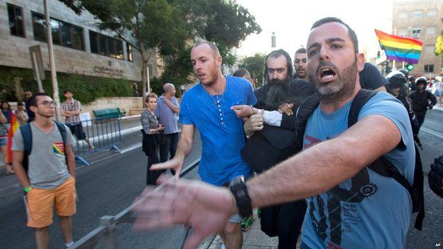 Jerusalem Gay Pride Parade Attack 03