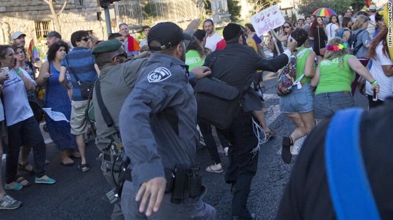 Jerusalem Gay Pride Parade Attack 04