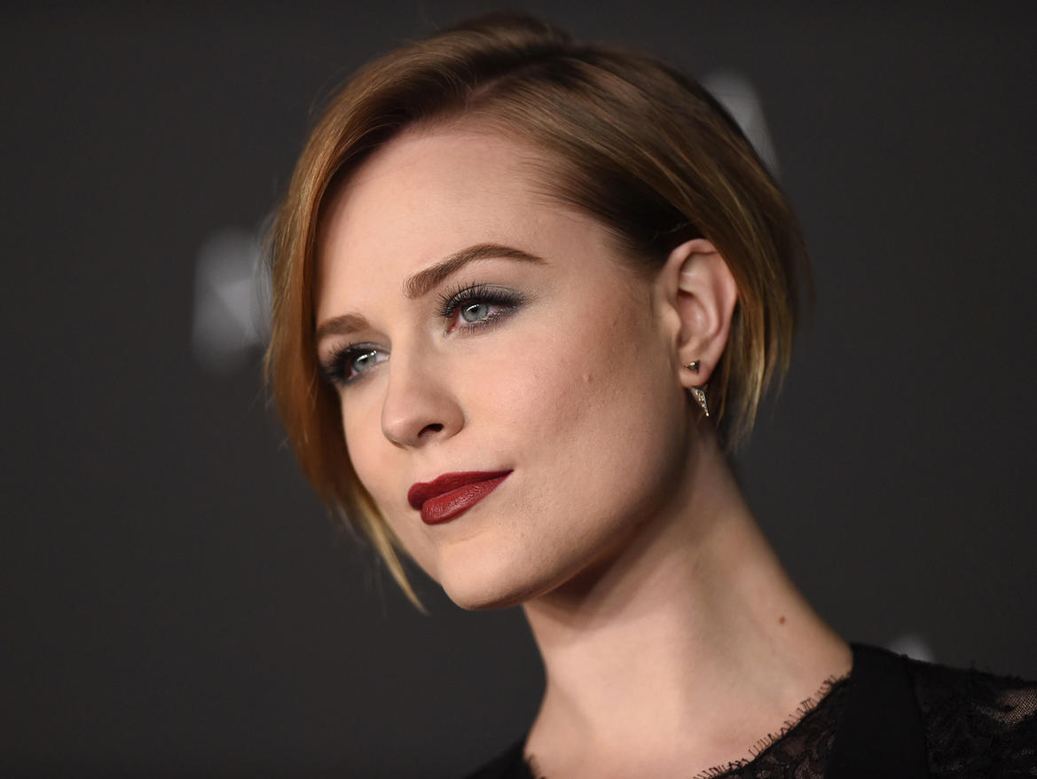 LOS ANGELES, CA - NOVEMBER 01:  Actress Evan Rachel Wood attends the 2014 LACMA Art + Film Gala Honoring Barbara Kruger And Quentin Tarantino Presented By Gucci at LACMA on November 1, 2014 in Los Angeles, California.  (Photo by Axelle/Bauer-Griffin/FilmMagic)