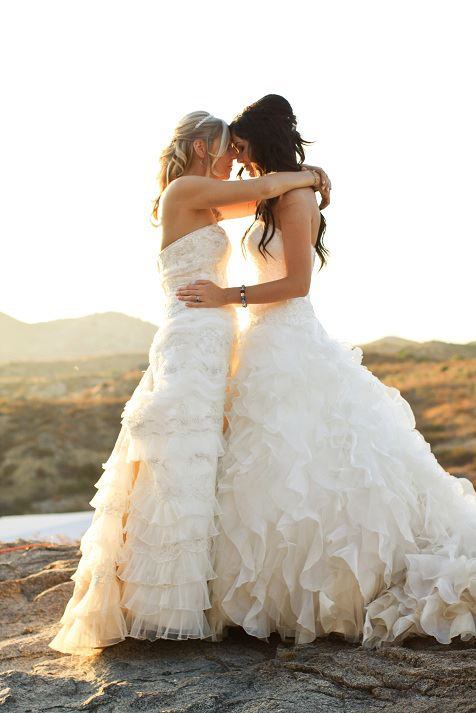 lesbian wedding dresses 31 beautiful wedding photos that prove two brides 5502