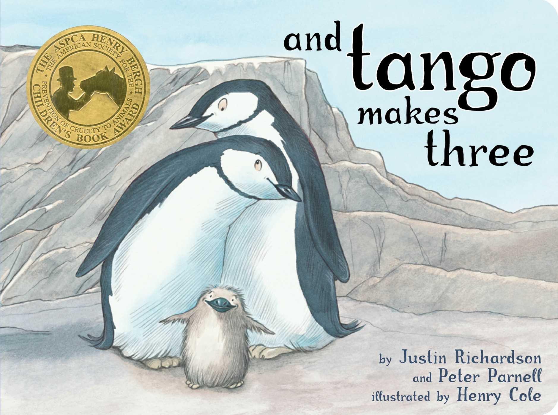 And Tango Makes Three- By Justin Richardson