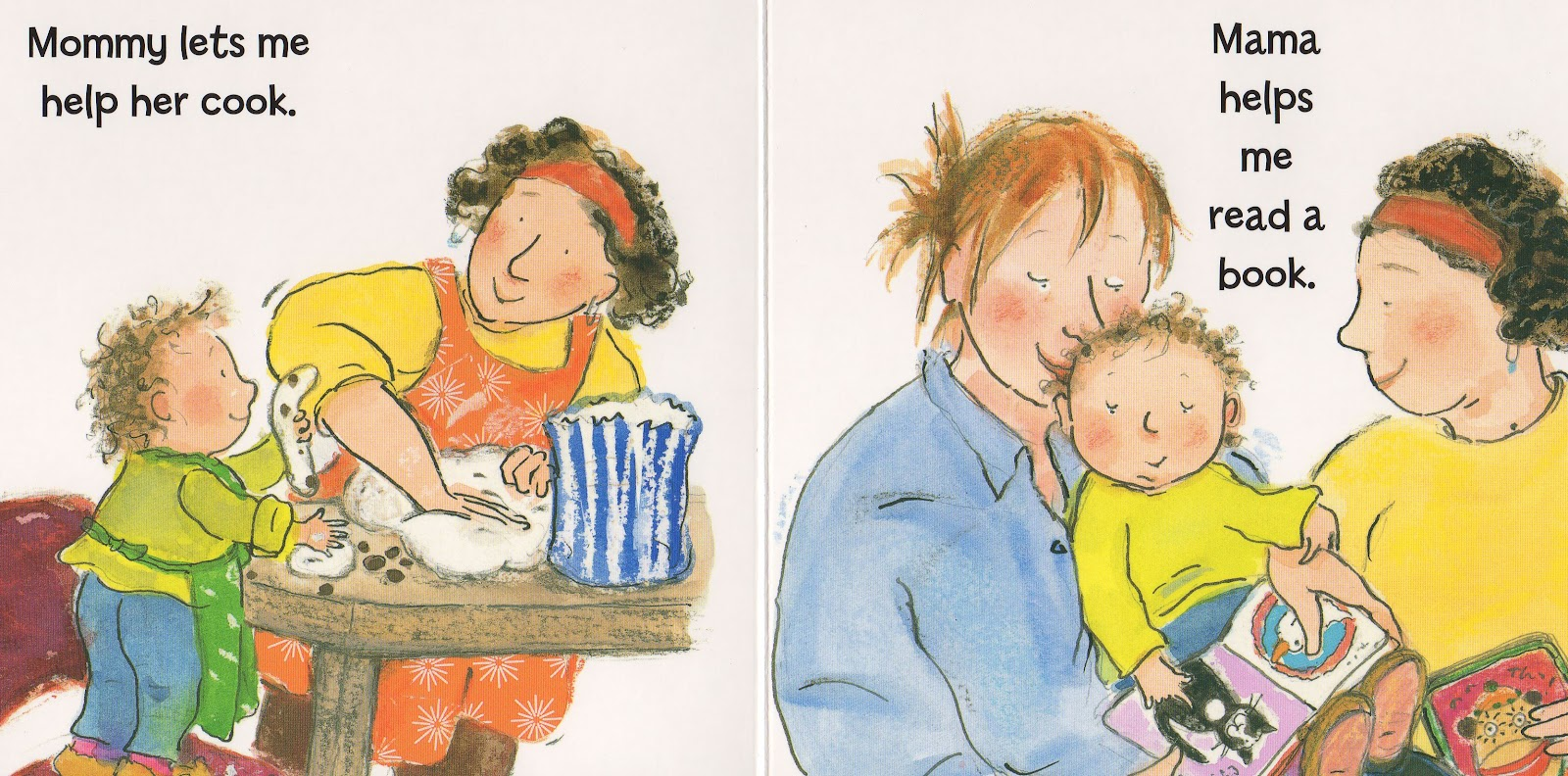 Mommy, Mama, and Me - By Leslea Newman