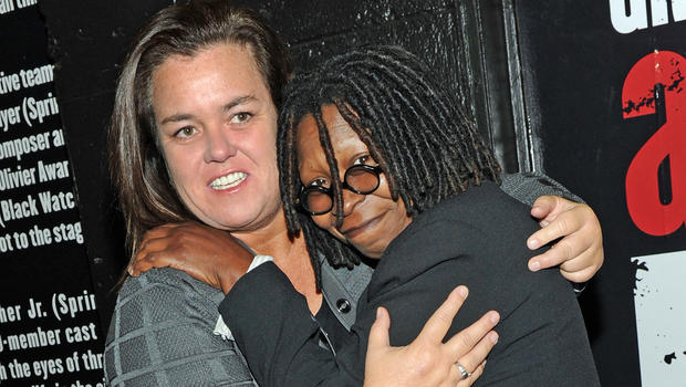 Whoopi Goldberg and Rosie O'Donnell