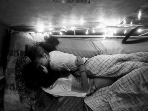 Lesbians cuddling tumblr