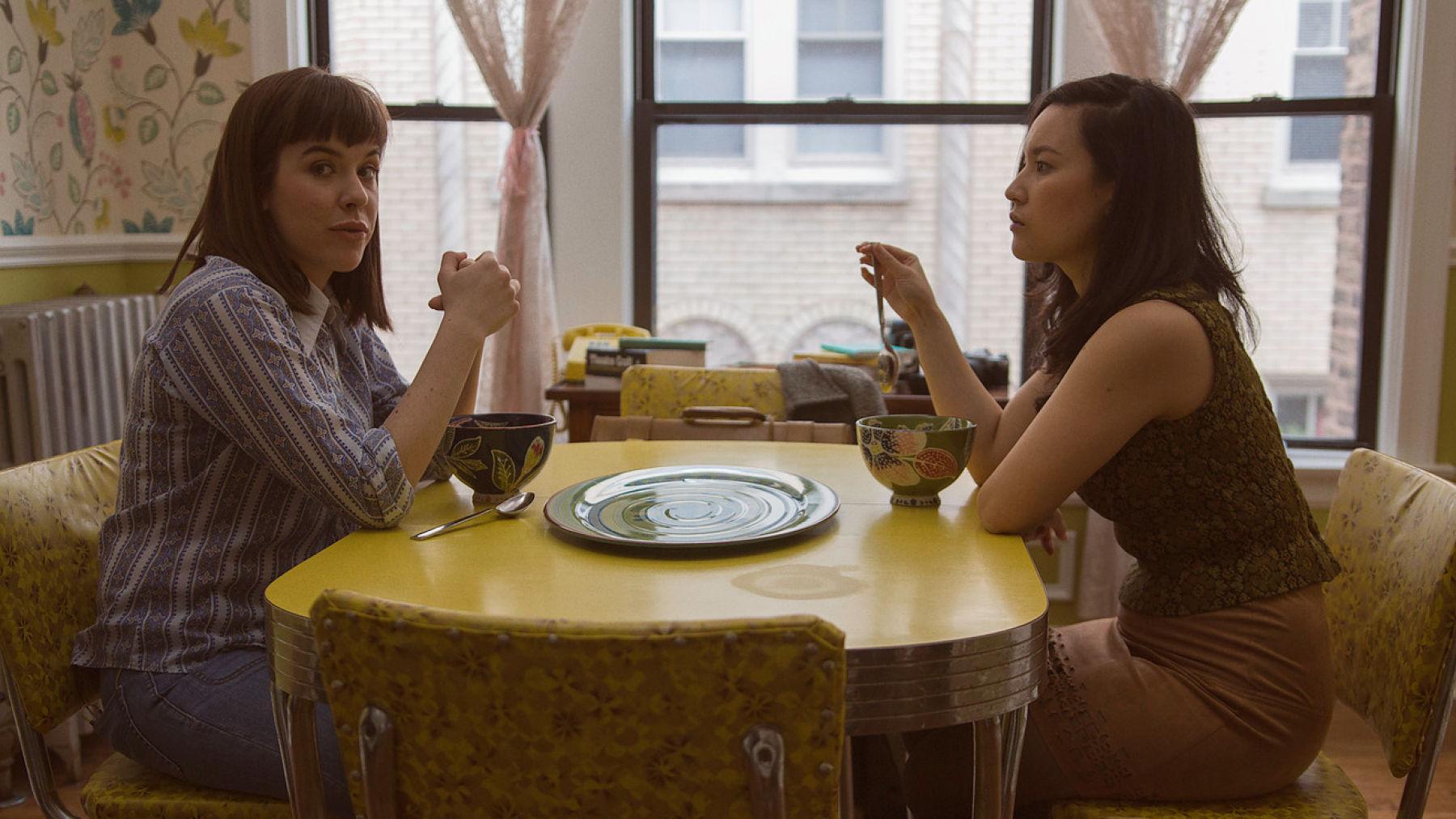 Lesbian date night
