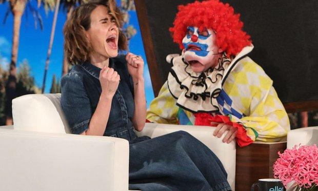 ellen degeneres clown scare
